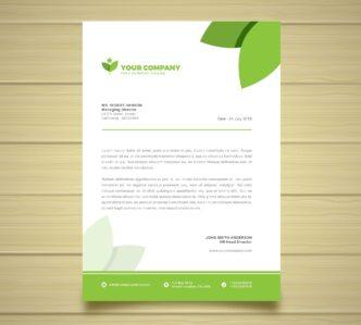 przykład papieru firmowego