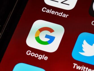 ikona Google na smartfonie
